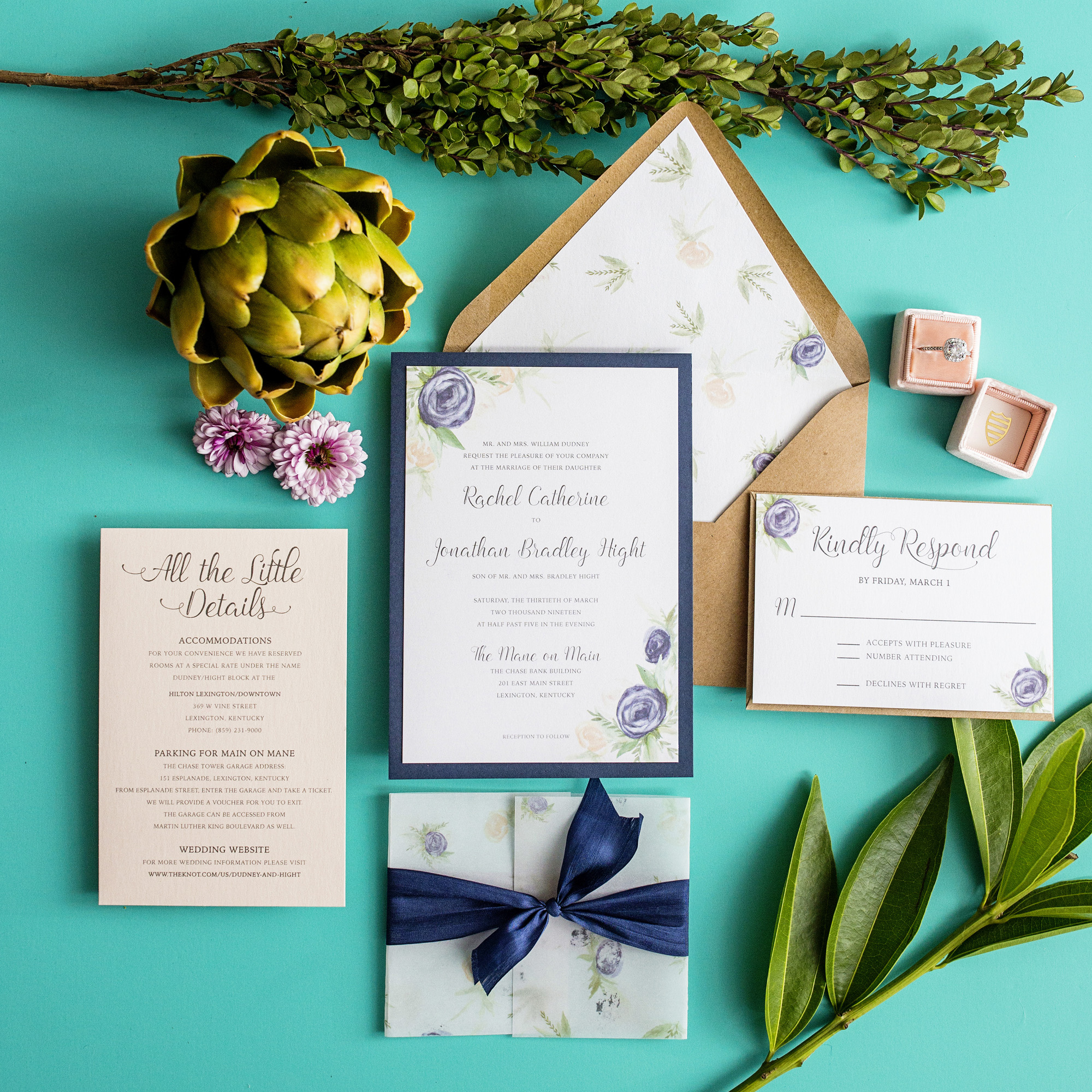 Custom Wedding Invitations – Simply Done Invites